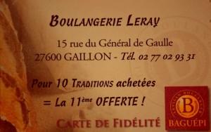 boulangerie LERAY